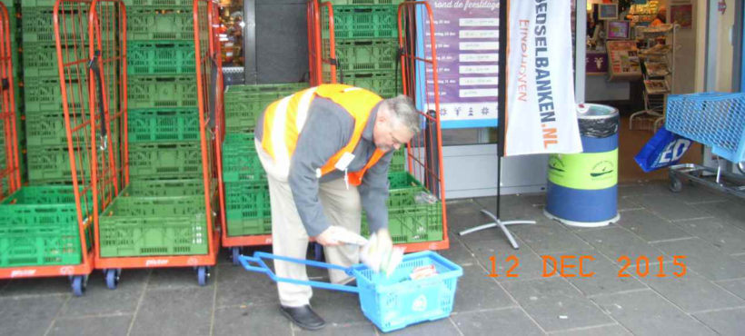 Ouderen Appèl Eindhoven helpt Voedselbank Eindhoven
